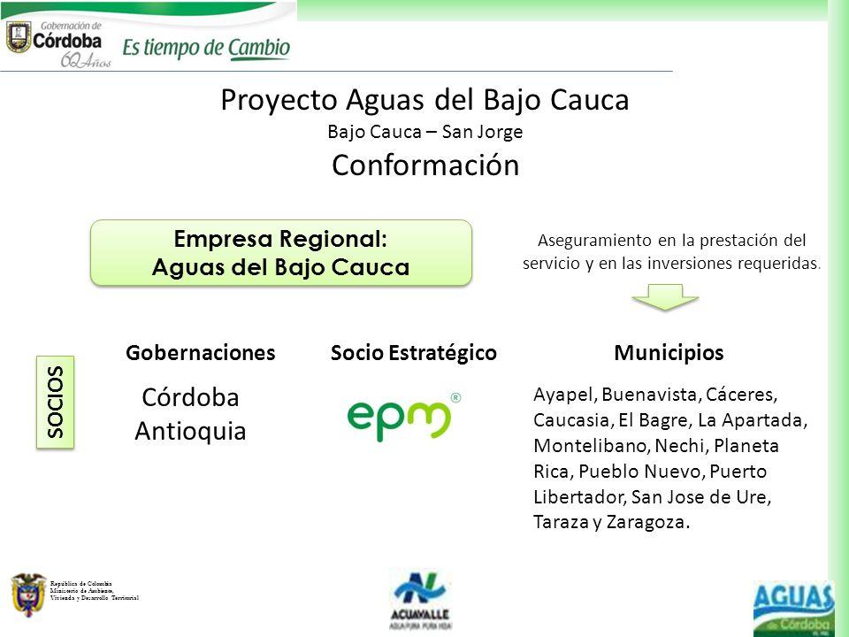 Proyecto Aguas del Bajo Cauca