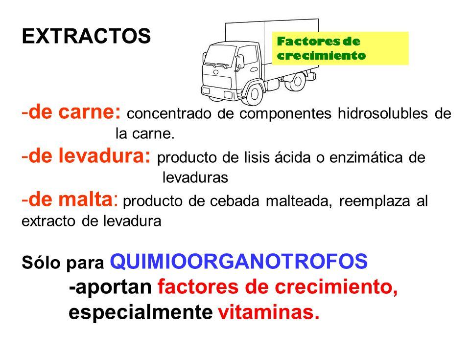 de carne: concentrado de componentes hidrosolubles de la carne.