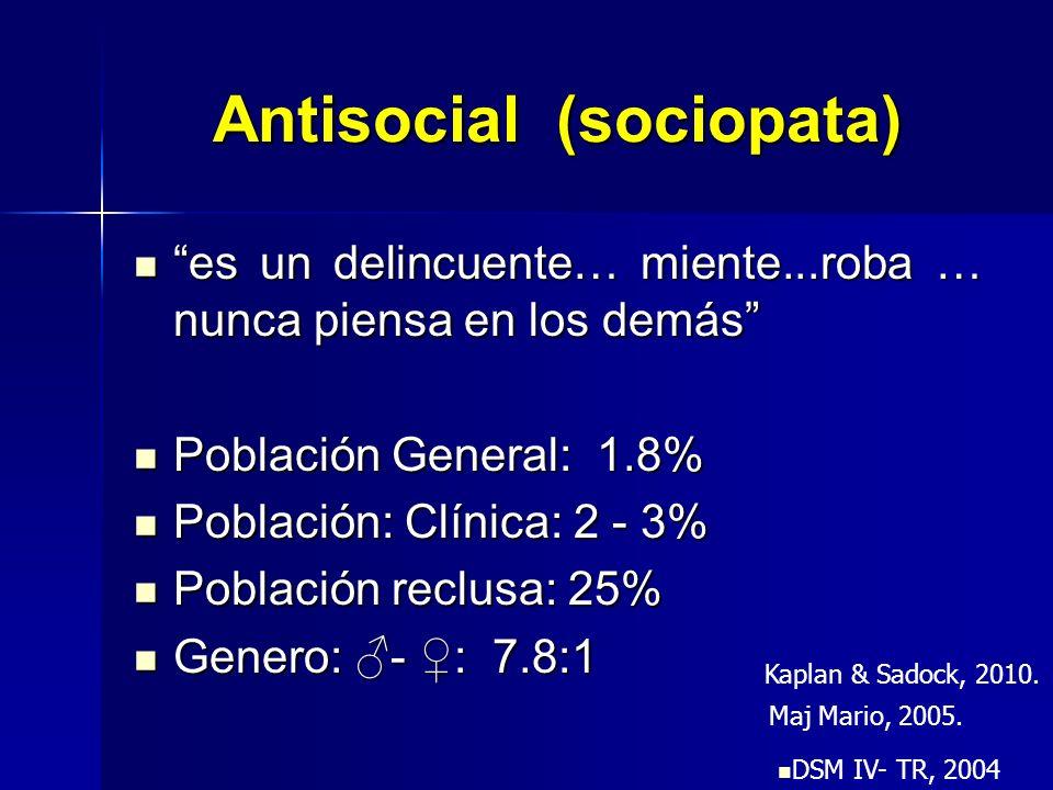 Antisocial (sociopata)