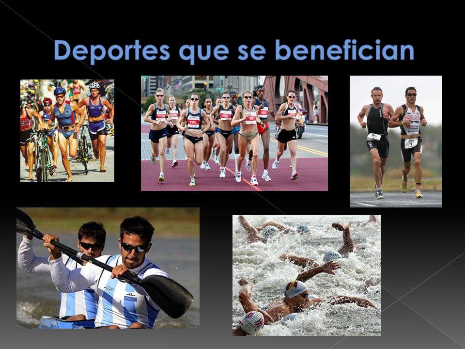 Deportes que se benefician