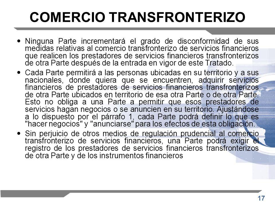 COMERCIO TRANSFRONTERIZO