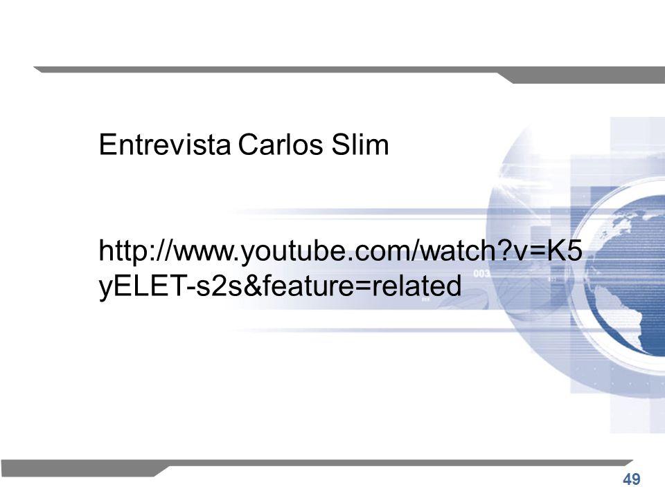 Entrevista Carlos Slim