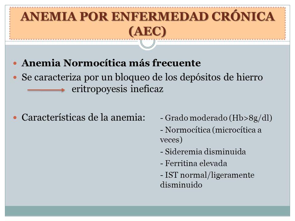 ANEMIA POR ENFERMEDAD CRÓNICA (AEC)