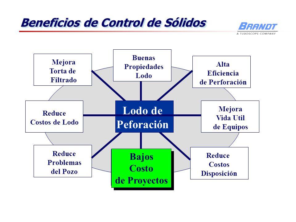 Beneficios de Control de Sólidos