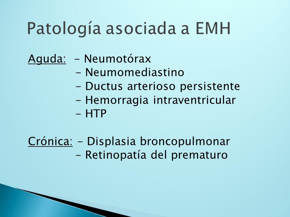 Patología asociada a EMH