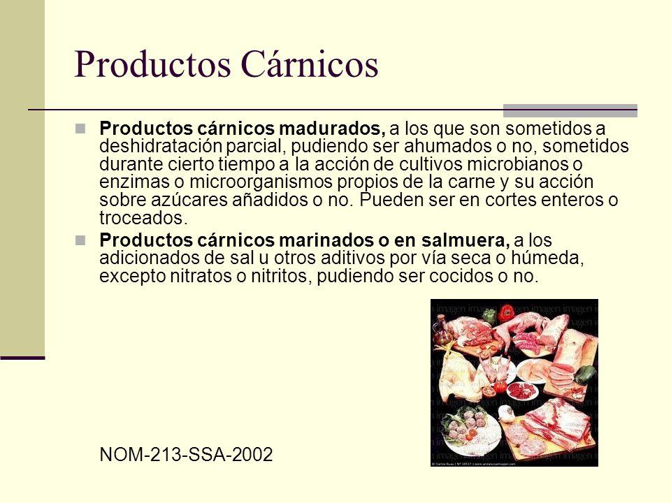 Productos Cárnicos