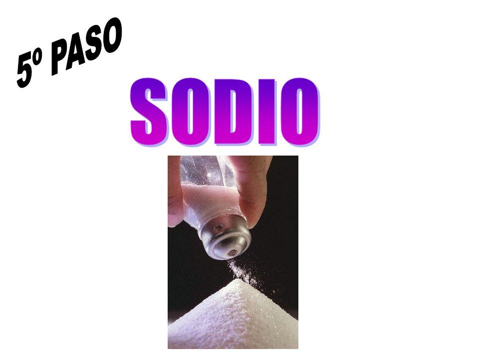 5º PASO SODIO