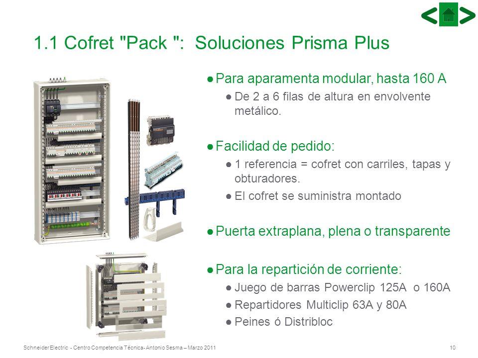 1.1 Cofret Pack : Soluciones Prisma Plus