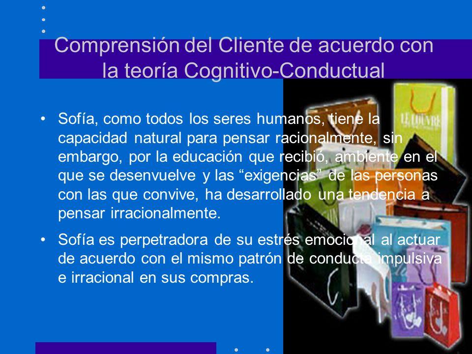 Comprensión del Cliente de acuerdo con la teoría Cognitivo-Conductual