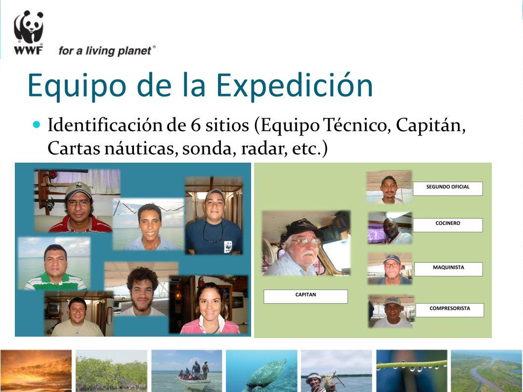 Equipo de la Expedición