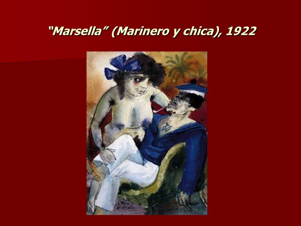 Marsella (Marinero y chica), 1922