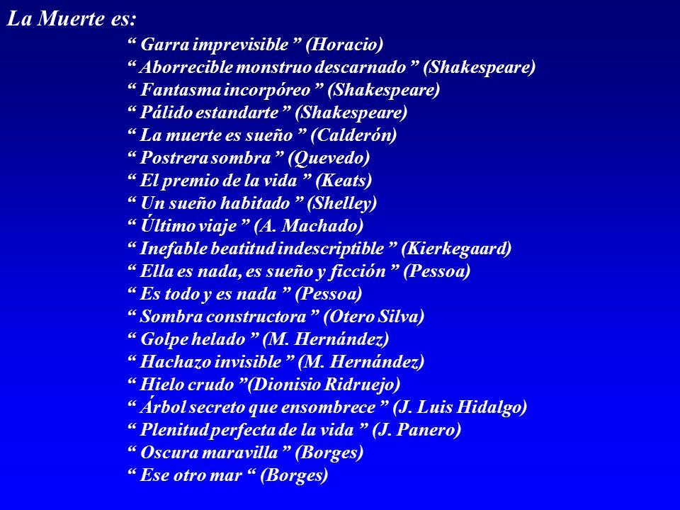 La Muerte es: Garra imprevisible (Horacio)