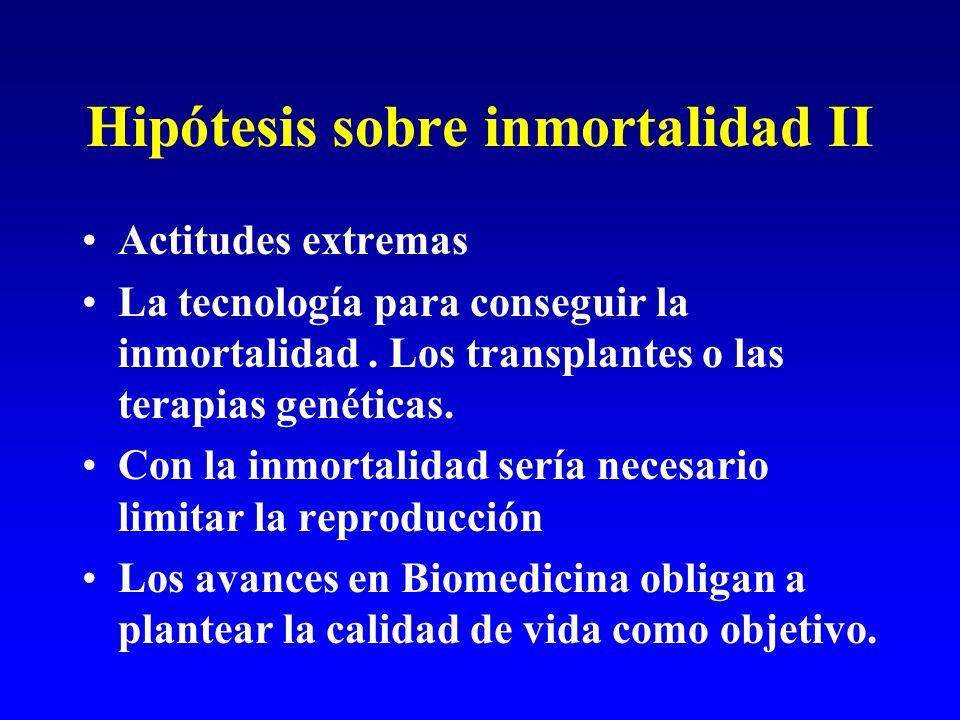 Hipótesis sobre inmortalidad II