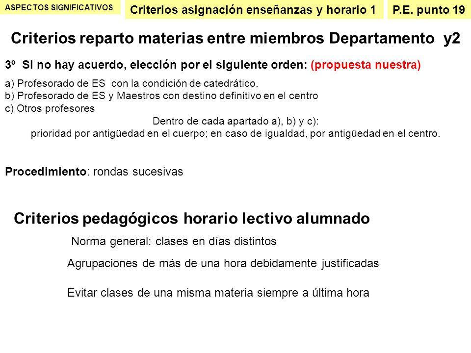 Criterios reparto materias entre miembros Departamento y2