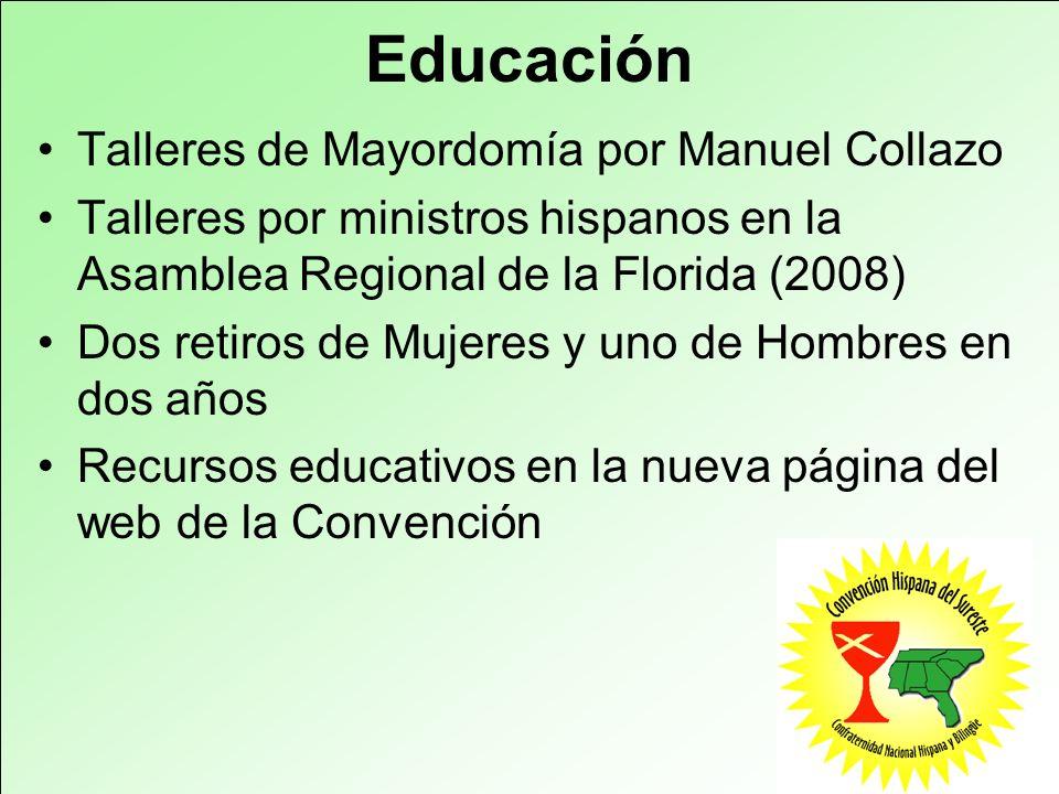 Educación Talleres de Mayordomía por Manuel Collazo