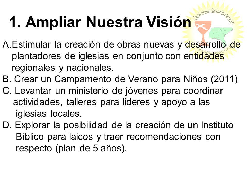 1. Ampliar Nuestra Visión