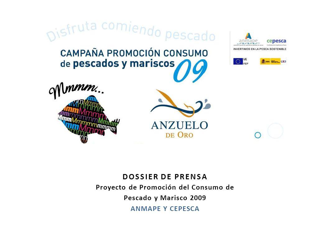 DOSSIER DE PRENSA Proyecto de Promoción del Consumo de