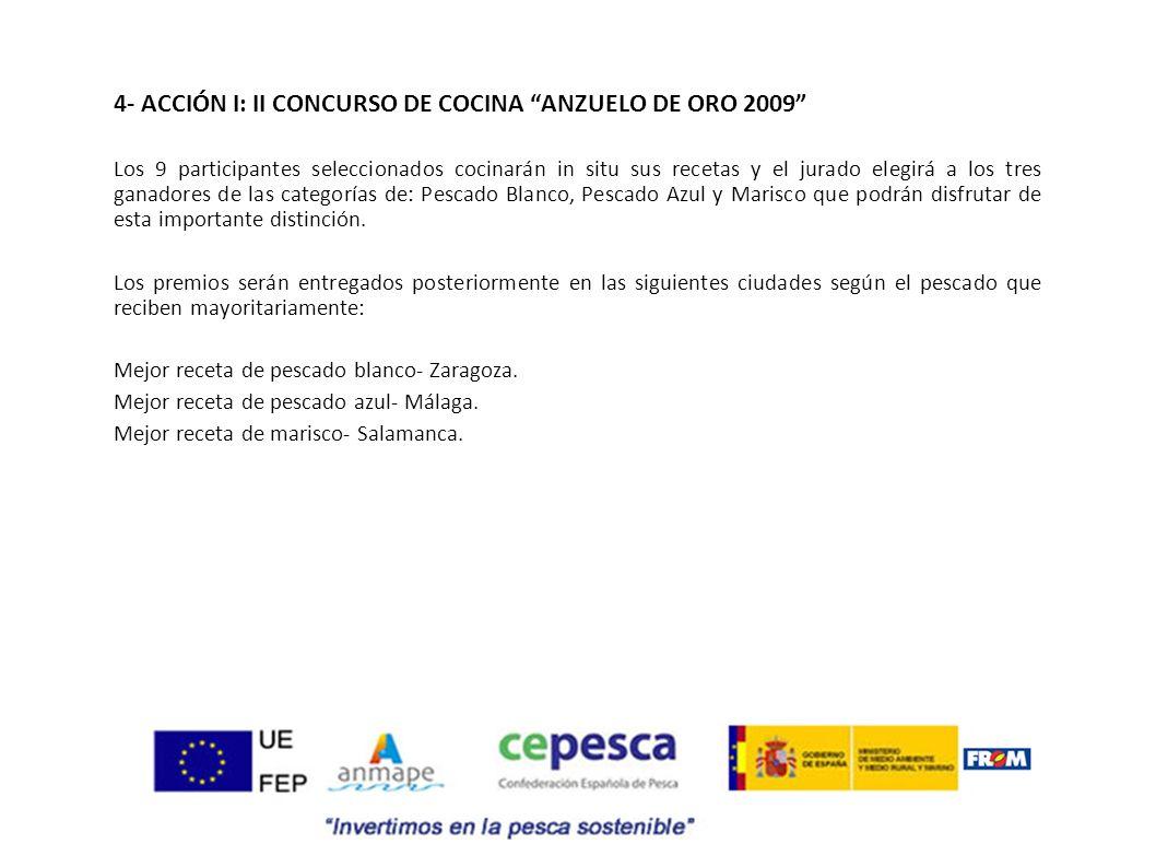 4- ACCIÓN I: II CONCURSO DE COCINA ANZUELO DE ORO 2009