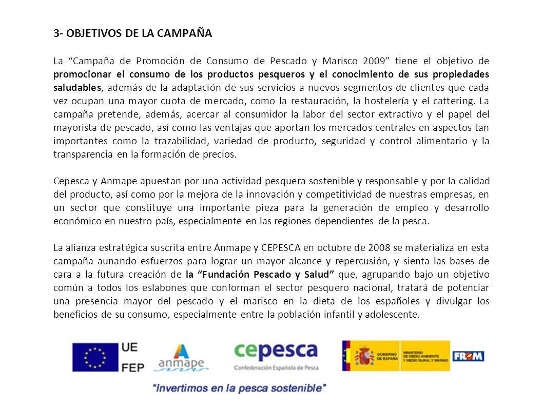 3- OBJETIVOS DE LA CAMPAÑA