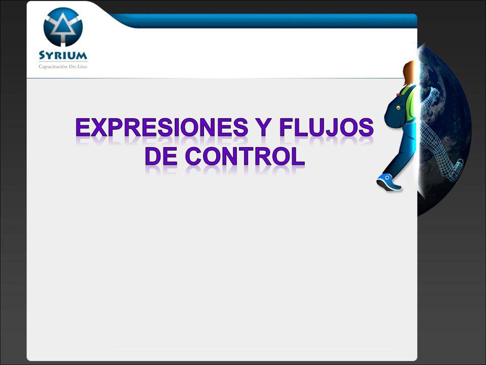 Expresiones y flujos de control
