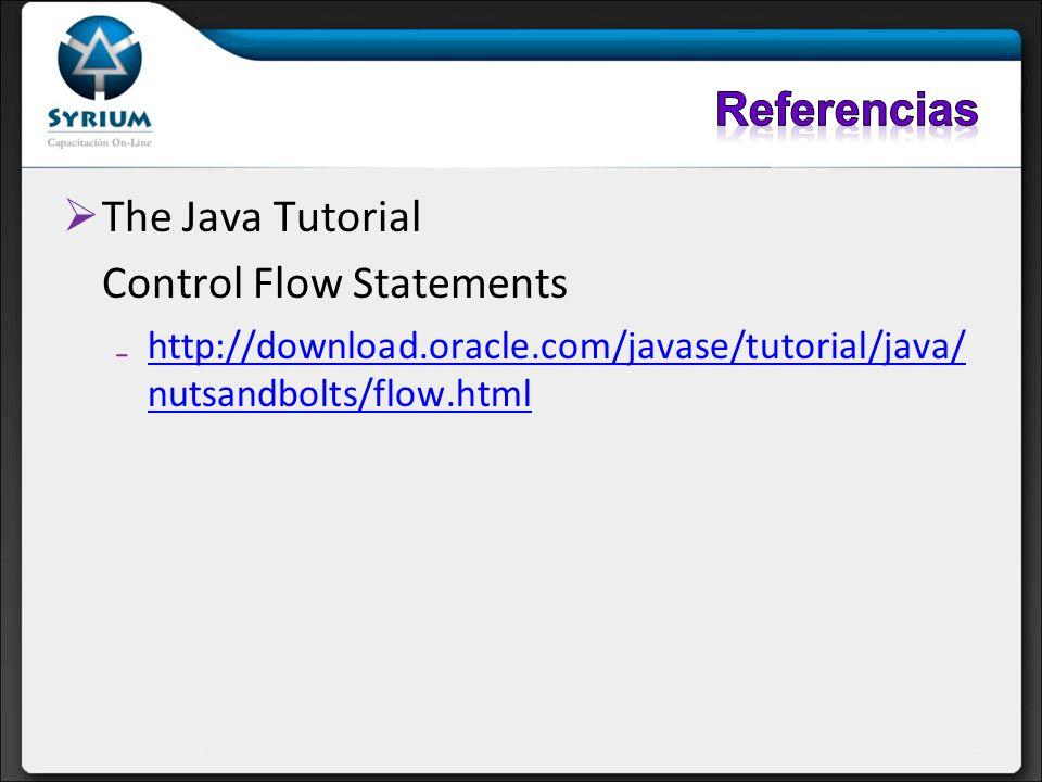 Control Flow Statements