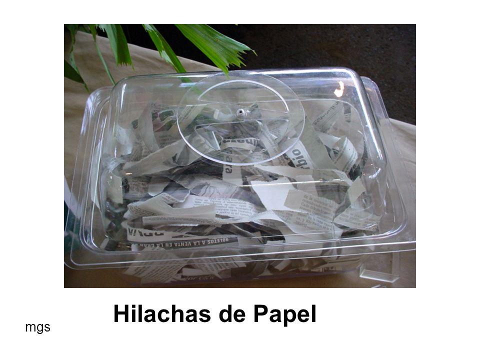 Hilachas de Papel mgs