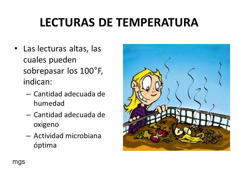 LECTURAS DE TEMPERATURA