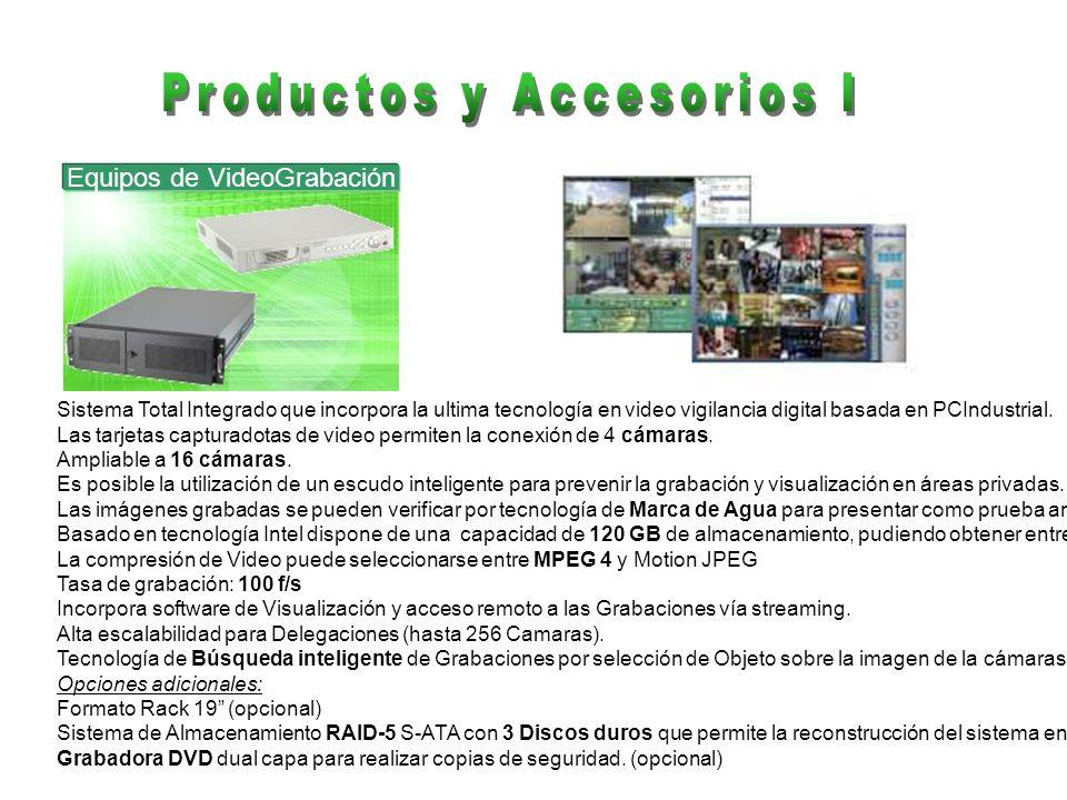 Productos y Accesorios I