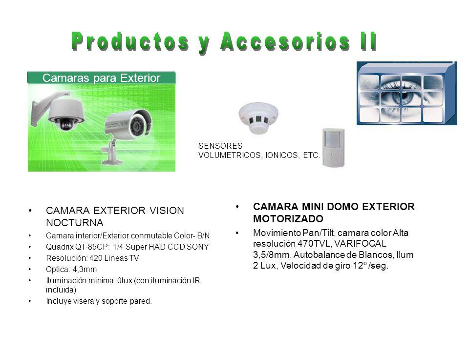 Productos y Accesorios II