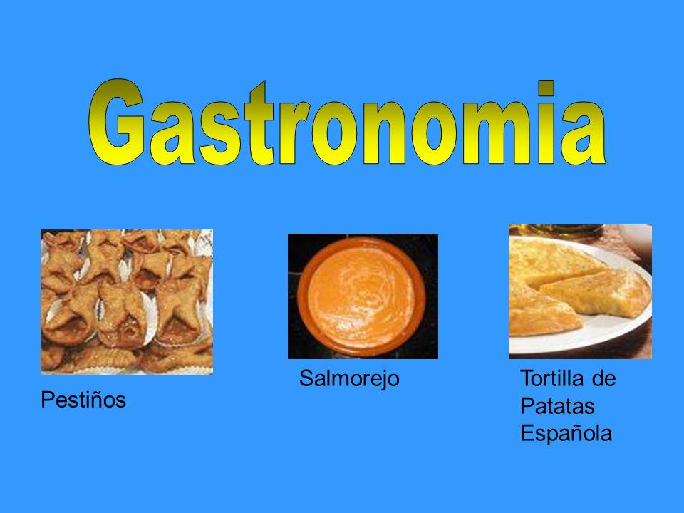 Gastronomia Salmorejo Tortilla de Patatas Española Pestiños