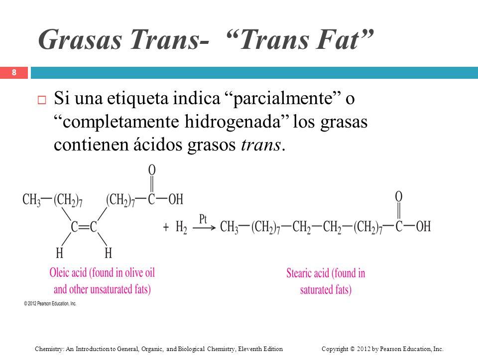 Grasas Trans- Trans Fat