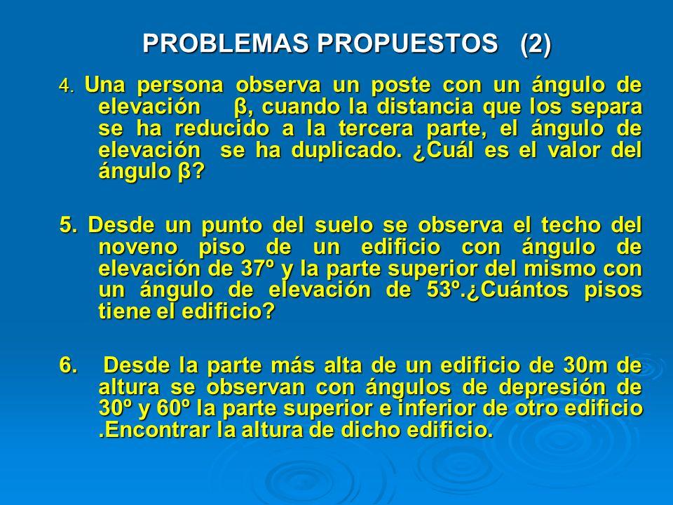 PROBLEMAS PROPUESTOS (2)