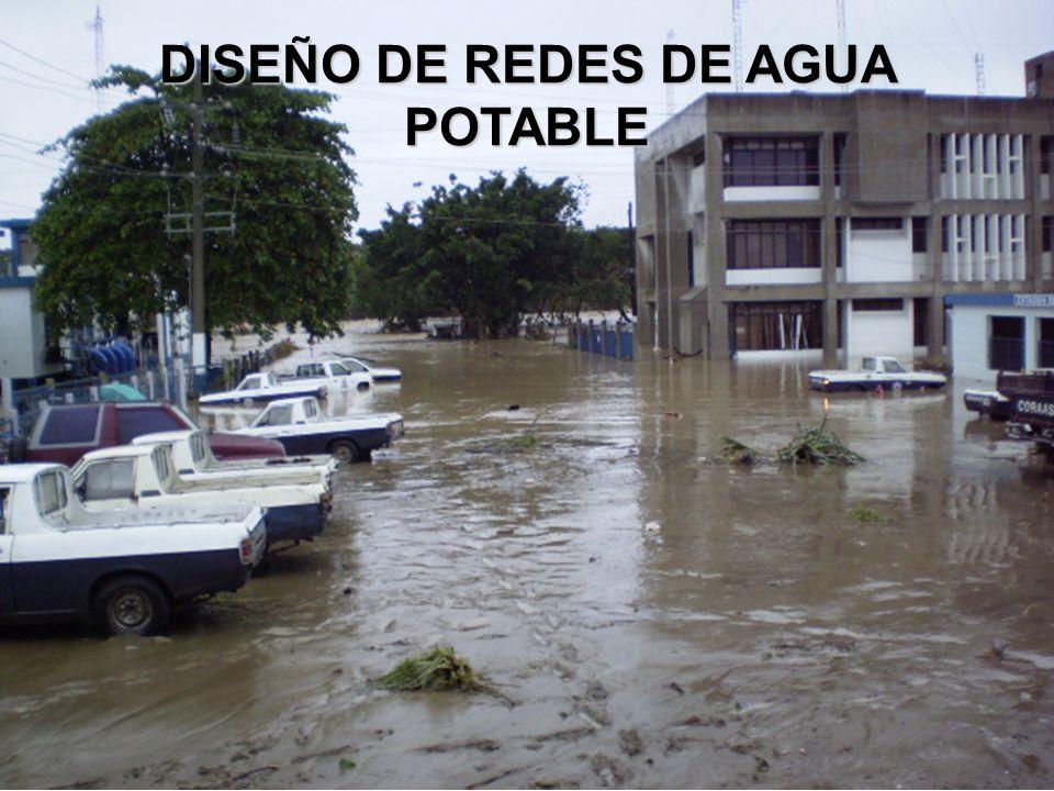 DISEÑO DE REDES DE AGUA POTABLE