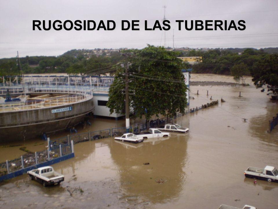 RUGOSIDAD DE LAS TUBERIAS