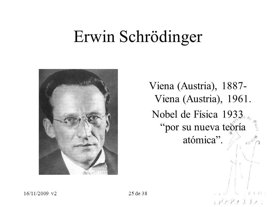 Erwin Schrödinger Viena (Austria), 1887- Viena (Austria), 1961.