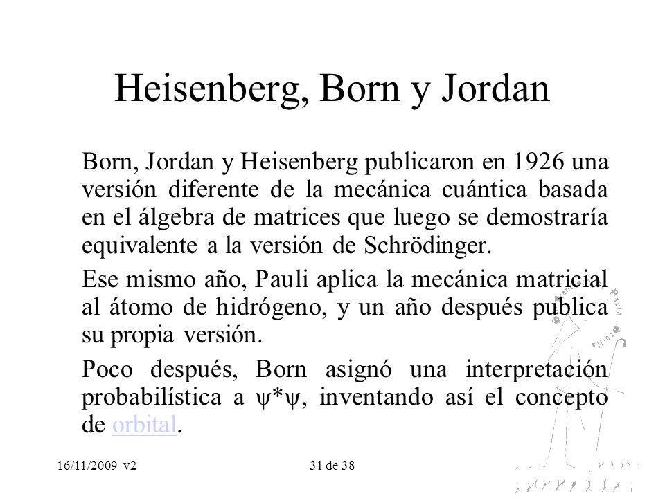 Heisenberg, Born y Jordan