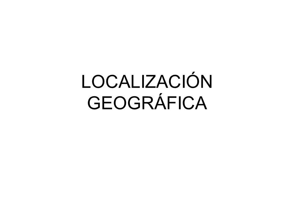 LOCALIZACIÓN GEOGRÁFICA