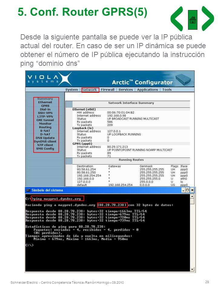 5. Conf. Router GPRS(5)