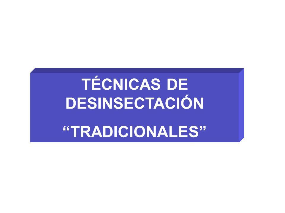 TÉCNICAS DE DESINSECTACIÓN