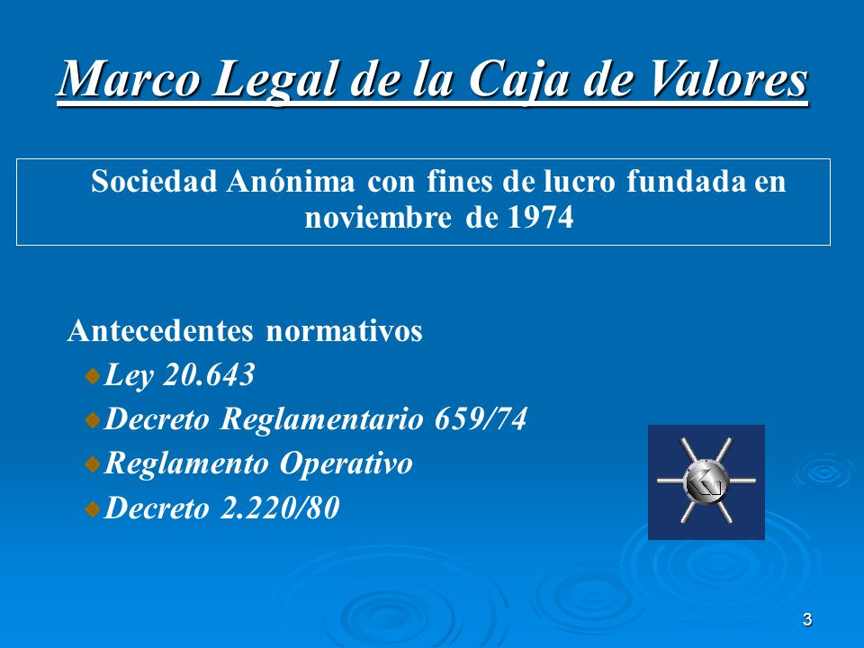Marco Legal de la Caja de Valores