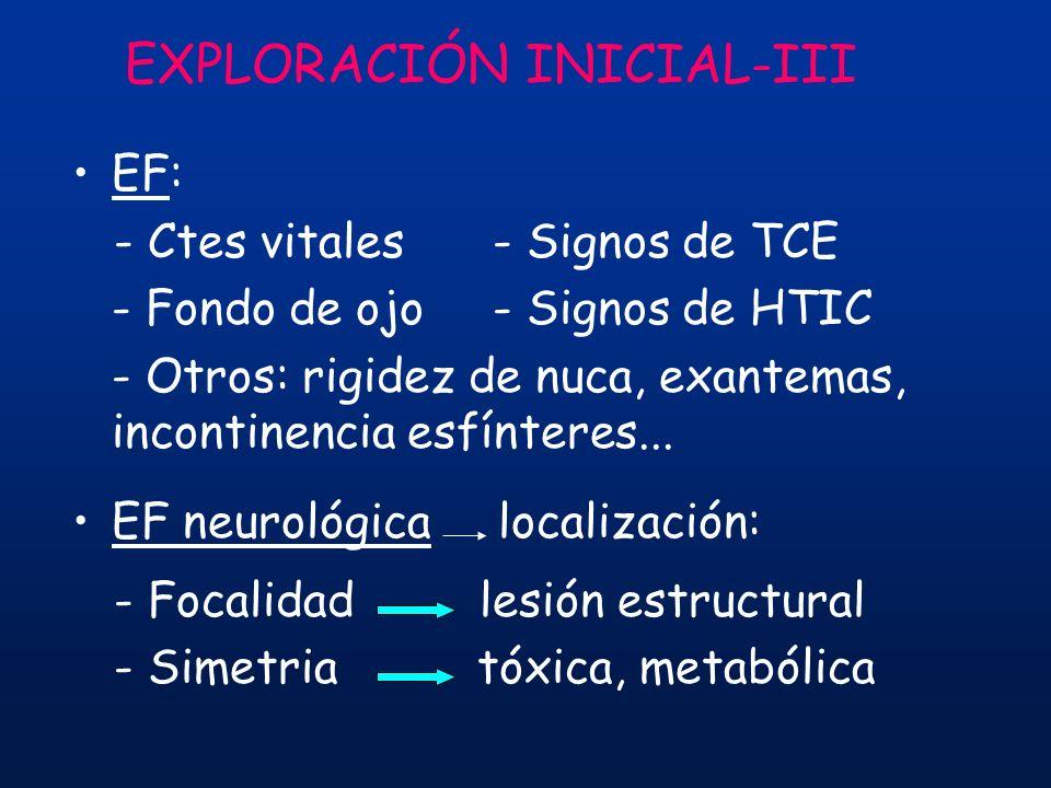 EXPLORACIÓN INICIAL-III