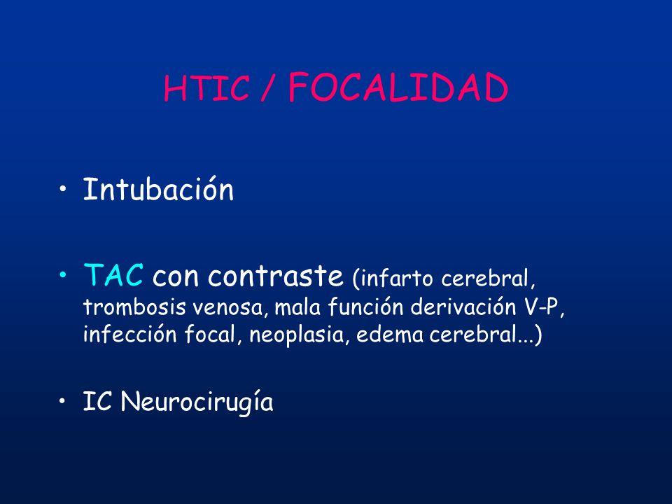 HTIC / FOCALIDAD Intubación