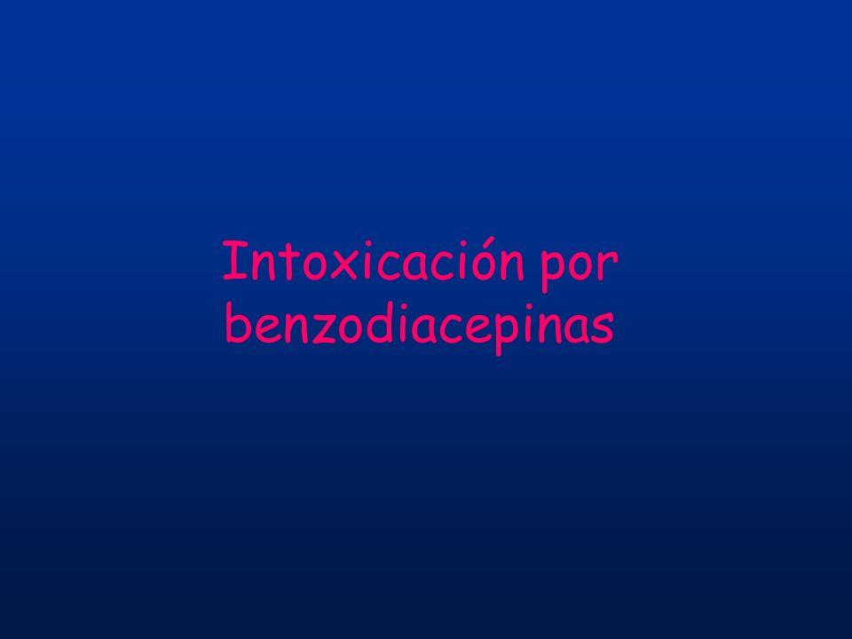 Intoxicación por benzodiacepinas