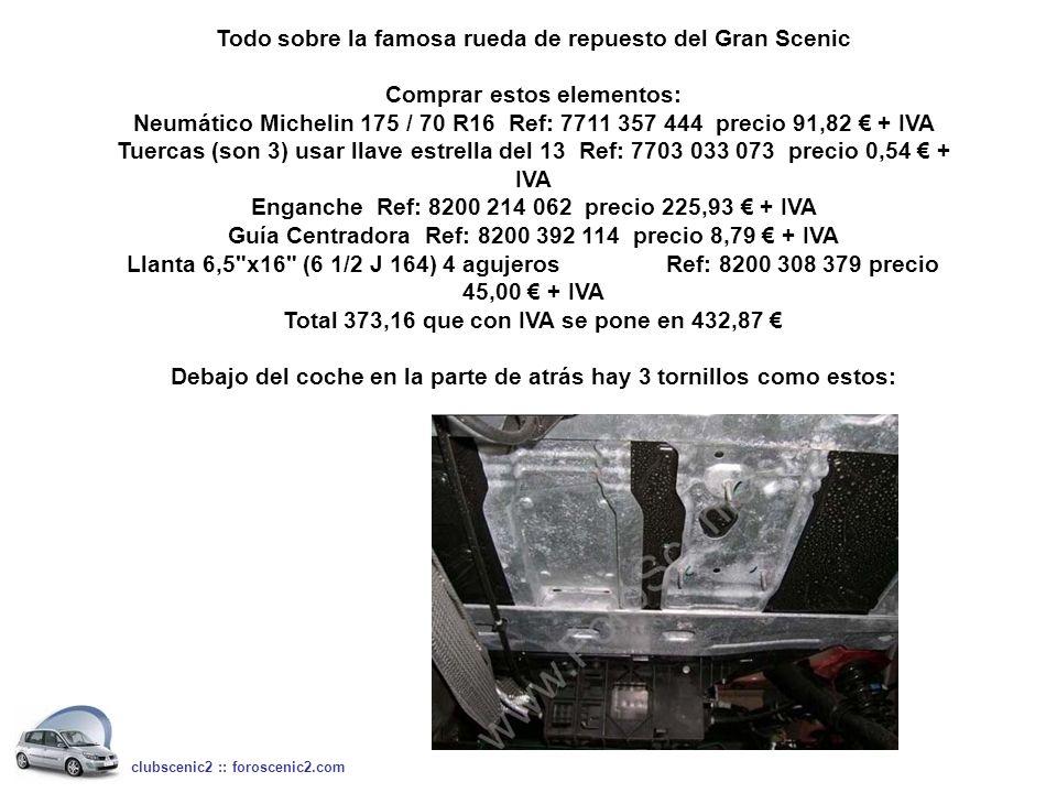 Neumático Michelin 175 / 70 R16 Ref: 7711 357 444 precio 91,82 € + IVA