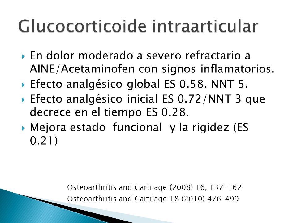 Glucocorticoide intraarticular