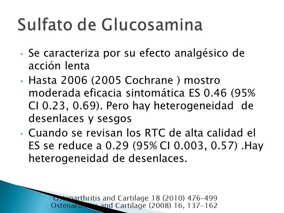 Sulfato de Glucosamina