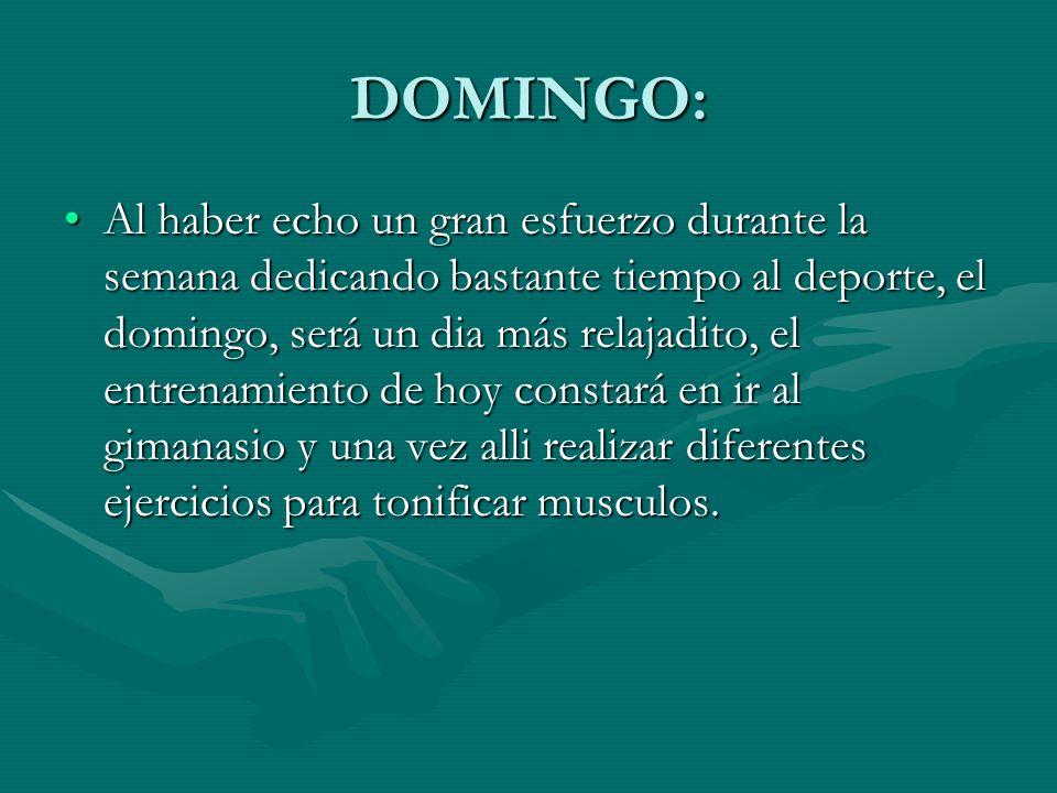 DOMINGO: