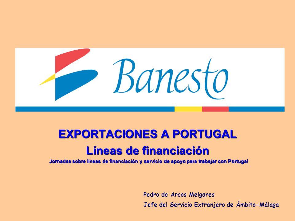 EXPORTACIONES A PORTUGAL Líneas de financiación
