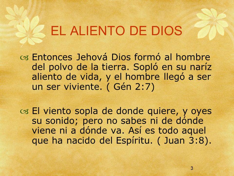 EL ALIENTO DE DIOS