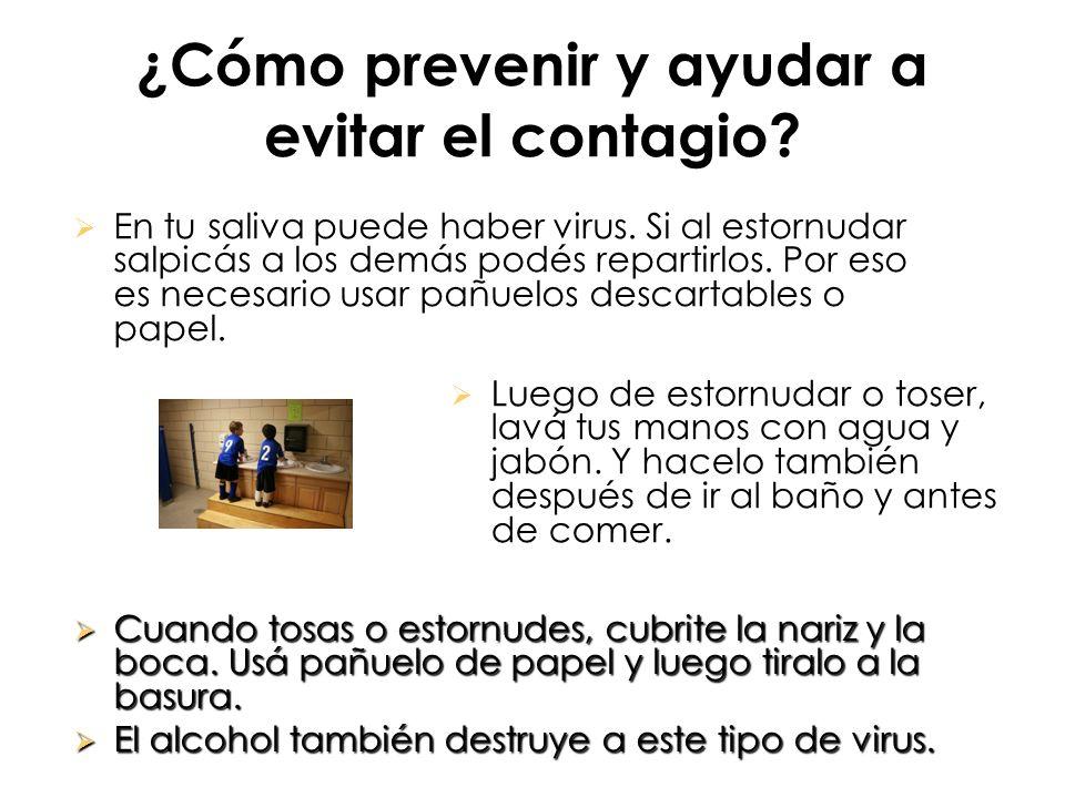 ¿Cómo prevenir y ayudar a evitar el contagio